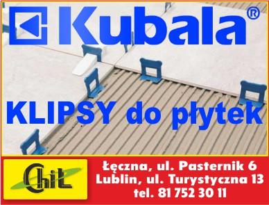 Chil - Klipsy do płytek firmy KUBALA