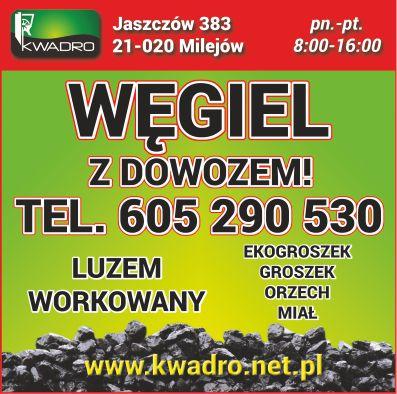 Starając się wyjść naprzeciw Państwa wymaganiom stworzyliśmy firmę Kwadro sp. z o.o. oferującą wysokiej jakości produkty węglowe.